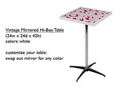 Vintage Hi Boy Table
