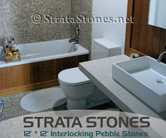 Tiling more than just your backsplash or shower floor? Maybe a whole room? Maybe your swimming pool? StrataStones offers the largest selection of Pebble Tile anywhere in the world! ‪#‎PebbleStones‬ ‪#‎StrataStones‬ ‪#‎AboutUs‬ http://www.stratastones.net/