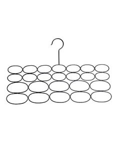 Another great find on #zulily! Black Scarf Hanger - Set of Two #zulilyfinds