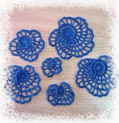 Irish crochet &: Ажурная роза для ирландского кружева. Irish croche...