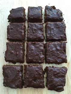 clean nut free brownies with chocolate glaze,  made with secret ingredients. NO nuts, no oil, no dairy, just beautiful plant based ingredients!