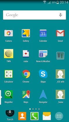"""The Samson Galaxy Note 4 is a real mobile work horse. Choosing the right apps and how to display them with a Nova launcher makes for performance computing.  'Home"""" Screen"""