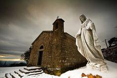 L'église de l'#Ospedale et La vierge aux doigts coupés #PortoVecchio #Corse