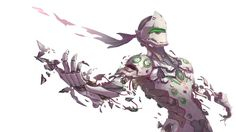 Genji Overwatch Wallpaper