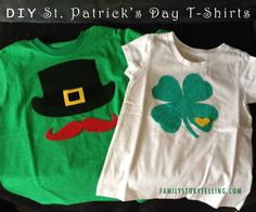 DIY St. Patrick's Day T-Shirts for Kids!