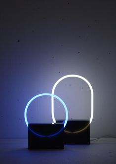 The Voie light series is a minimal light design created by Rotterdam-based designer Sabrine Marcellis.