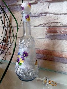 55 ideas of decoupage on the glass-29