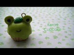 Do you guys want a video on how I glaze my charms?    Hi guys~ So today I'm showing you how to make a kerori cupcake. Kerori  is a San-x frog character, NOT keroppi. Here is a list of materials  that I used    -Premo! Ecru  -Scrap Clay (leftover clay I don't use)  -Premo! Wasabi  -Sculpey Emerald  -Premo! Black  -Eyepin  -Bake & Bond (the liquid stuff I dip...
