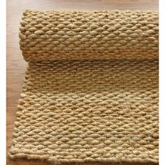 nuLOOM Handmade Natural Jute Rug (8' x 10') | Overstock.com Shopping - The Best Deals on 7x9 - 10x14 Rugs