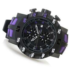 Invicta 52mm S1 Rally Evolution Quartz Chronograph Silicone Strap Watch...