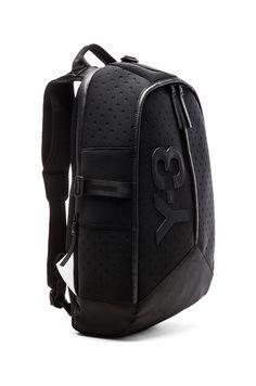 a8e46f53f9f Y-3 Yohji Yamamoto Day Backpack in Black   Y 3 Yohji Yamamoto, Day