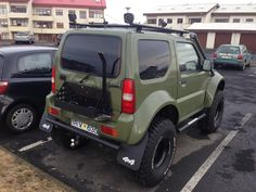 Jimny 4x4, Jimny Suzuki, Mini Trucks, Cars And Motorcycles, Offroad, Cool Cars, Samurai, Chevy, Car Stuff