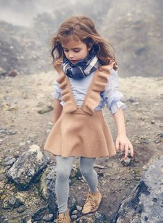 Nellystella Ivy Dress in Camel - Mode Fille 2019 Outfits Niños, Baby Outfits, Toddler Outfits, Skater Outfits, Disney Outfits, Stylish Outfits, Fashion Kids, Toddler Fashion, Fashion Dolls