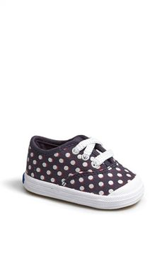 SO adorable!!  Polka dotted Keds for babies!  http://rstyle.me/n/d9h9unyg6