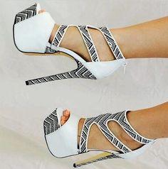 Fashion high #heel shoes