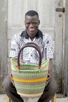 Nyariga Basket (Small) by Attiah Ayinebono