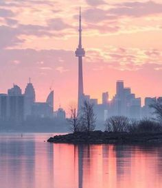 Lovely photo of Toronto from afar- photography, colors, beautiful Toronto Skyline, Toronto City, Downtown Toronto, Cityscape Photography, City Photography, Torre Cn, Photography Sketchbook, Toronto Photography, Toronto Ontario Canada