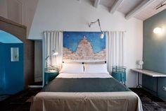 35 idee per arredare la camera da letto testiera del letto cn tende