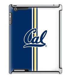 Uncommon LLC University of California - Berkeley Vertical Stripe Deflector Hard Case for iPad 2/3/4 (C0050-GB)