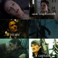 Will turner aka orlando bloom.... aka my first love.