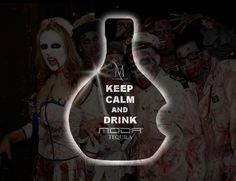 Keep Calm and Drink Moda Tequila