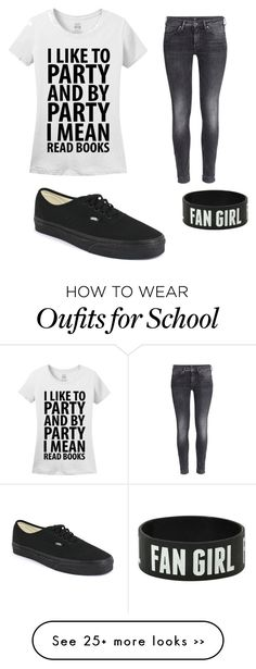 """""""First Day of School Outfit"""" by anjali-vaid on Polyvore"""