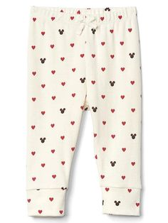 Disney Baby Minnie Mouse and Hearts Pants | BabyGap