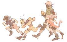 Tags: Fanart, NARUTO, Haruno Sakura, Uzumaki Naruto, Uchiha Sasuke, Hatake Kakashi, Pixiv, Team 7, Fanart From Pixiv, Pixiv Id 16597857