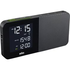 Amazon.com: Braun BNC010BK-RC Digital Alarm Clock Radio Black: Electronics