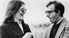 Diane Keaton, Woody Allen A match made in heaven.at least when it came to ANNIE HALL! Diane Keaton Woody Allen, Diane Keaton Annie Hall, Dianne Keaton, The Best Films, Great Films, Martin Scorsese, Alfred Hitchcock, Stanley Kubrick, Anniversaire Woody