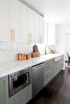 Modern Farmhouse Gray Kitchen Cabinet Design Ideas