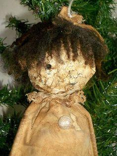 Primitive Art Doll Miss Annie OOAK Prim by MysticHillsNgaroma