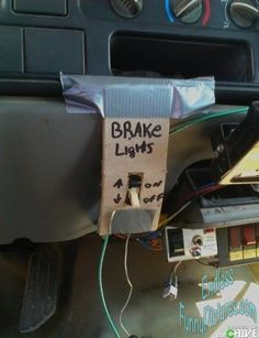 Lawl.. you will love this! That was a bad BRAKE