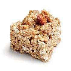 Peanut-Almond Snack Bars | MyRecipes.com