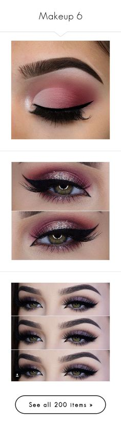 """""""Makeup 6"""" by fashionpolice-247 ❤ liked on Polyvore featuring beauty products, makeup, eye makeup, eyeliner, jewelry, earrings, lip makeup, lipstick, eyes and lips"""