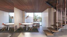 Design Studio, Conference Room, Divider, Dining Table, Inspiration, Interior Design, Furniture, Home Decor, Palmas
