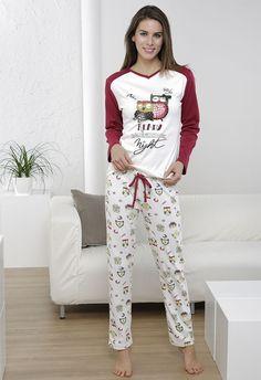 Perfumería El Ajuar - Ficha de producto - Pijama invierno mujer Massana Buhos - Homewear - Pijama invierno mujer