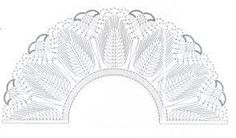 Image result for bobbin lace fan pattern