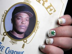 Dr Dre The Chronic Nails