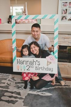 Having hosted not one, not two but five birthdays so far for my little girl, I'm always on the hunt for inspiration that doesn't feel like your run of the mill party. Enter...Hannah's ADORABLE ice cream parlor party, designed by