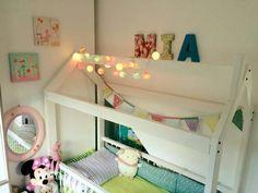 #cottonovelove #cottonballlights #interior #design #cottonballs #fairylights #cottonfairy #glow #świecącekulki #cottonfairylight #homedesign #homedecor #scandinaviandesign #scandidesign #minimalism #kidsroom #housebed