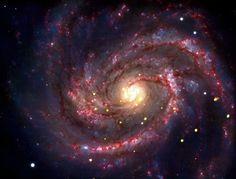 Das schwarze Loch ist bei der Explosion eines Sterns in der Galaxie M100 entstanden.