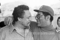 THE BASSIST AND THE TRUMPET PLAYER,