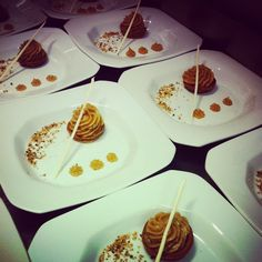 Tartelete de banana com doce de leite. #patisserie #confeitaria #coresabor #aartedaconfeitaria #costaodosantinho #instafood #sobremesa
