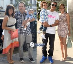 Tia and Tamara and their husbands | Tia Mowry and Tamera Mowry host Destination Maternity's Milky! launch ...