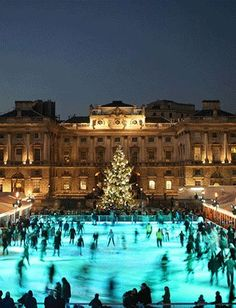 SKATE at Somerset House  #RePin by AT Social Media Marketing - Pinterest Marketing Specialists ATSocialMedia.co.uk