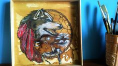 paint wolf