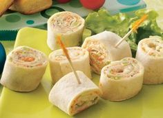 a friend gave me this recipe and swears that it's always requested wherever appetizers are going to be at... Ranch Roll-Up Snacks ... even the kiddos love it and don't know that there's broccoli and carrots in it!