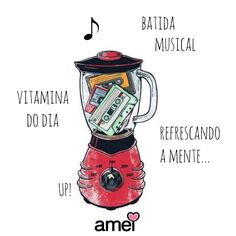 Somos ligados a música, temos histórias e momentos marcados por elas e nada melhor que relembrar com uma playlist feito com aquele carinho BOM DIA Suco detox MUSICAL Música @loja_amei de hoje: SOMEONE NEW-Hozier #lojaamei #amamosmusica #musica #quarta #som #felicidade