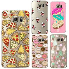 Donuts Pizza Silicone Cover Fundas Coque for Samsung Galaxy 2016 2015 Edge Core Grand Prime Case Funda Samsung S7, Coque Samsung Galaxy A3, Capas Samsung, Phone Cases Samsung Galaxy, Iphone Phone Cases, Iphone 8, Cute Cases, Cute Phone Cases, Cell Phone Covers